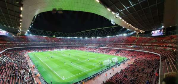 Emirates Stadium, section: 106, row: 2, seat: 417
