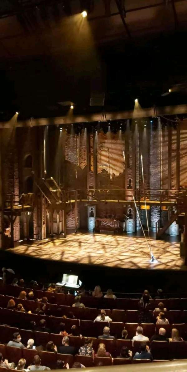 Sydney Lyric, section: Dress Circle, row: A, seat: 48