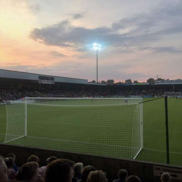 Glanford Park, section: AMS Stand, row: G, seat: 57