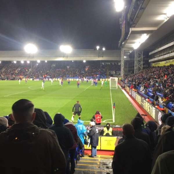 Selhurst Park, section: R, row: 15, seat: 12