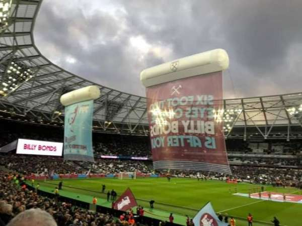 London Stadium, section: 137 Block G, row: 23, seat: 225
