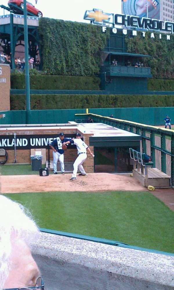 Comerica Park, section: 144, row: B, seat: 7