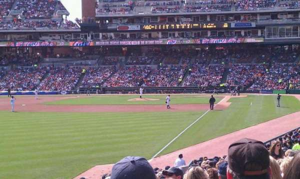 Comerica Park, section: 143, row: 17, seat: 9