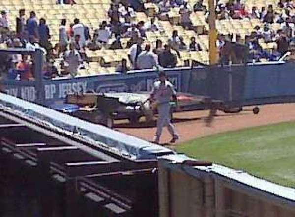 Dodger Stadium, section: 302PL, row: U, seat: 9