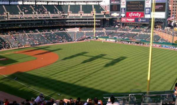 Comerica Park, section: 212, row: 16, seat: 5