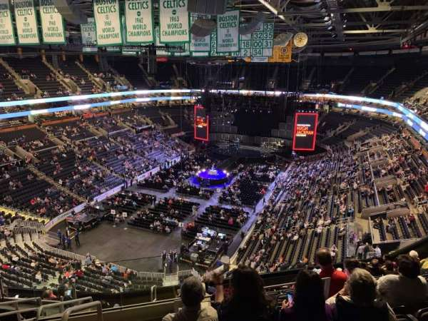 TD Garden, section: Bal 306, row: 11, seat: 23