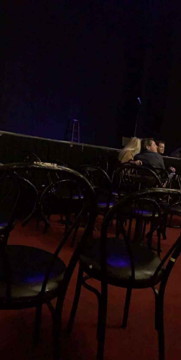 Wilbur Theatre, section: C, row: 3, seat: 4