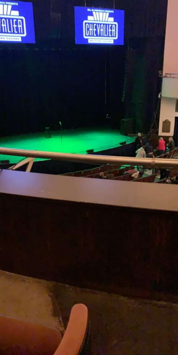 Chevalier Theatre, section: Balcony Left, row: B, seat: 1