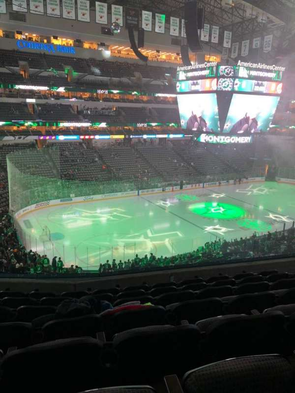 American Airlines Center, section: 221, row: G, seat: 8