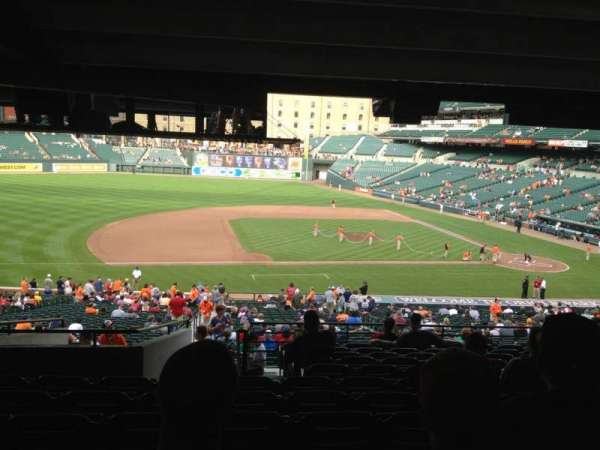 Oriole Park at Camden Yards, section: 53, row: 12, seat: 18