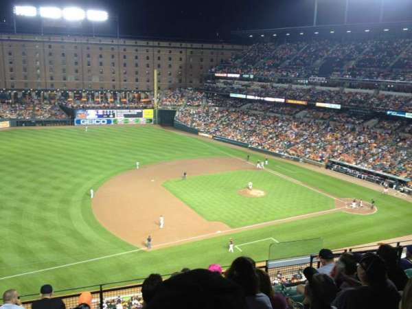Oriole Park at Camden Yards, section: 360, row: 8, seat: 4