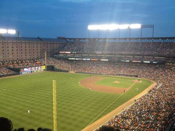 Oriole Park at Camden Yards, section: 376, row: 18, seat: 7