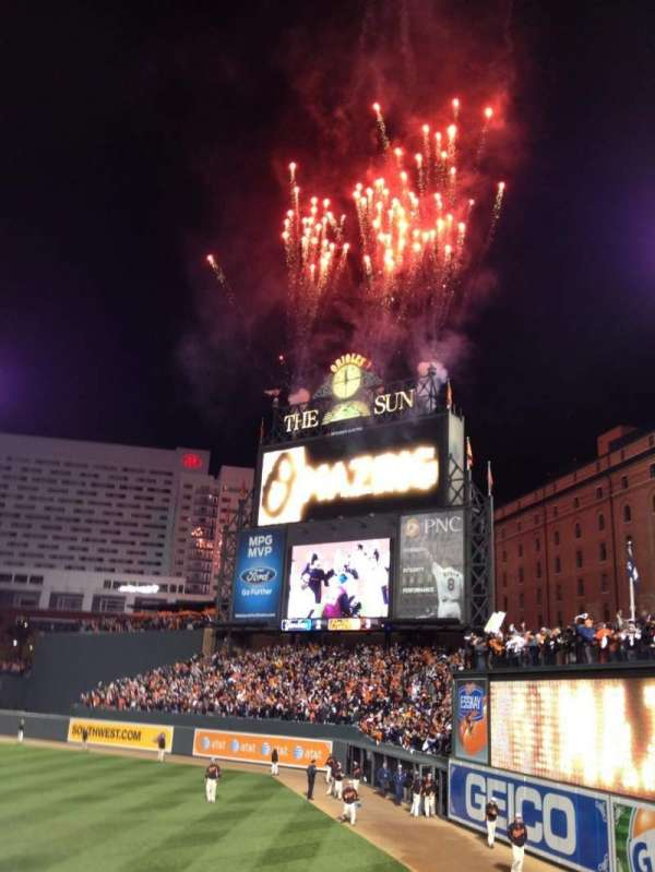 Oriole Park at Camden Yards, section: 6, row: 13, seat: 1