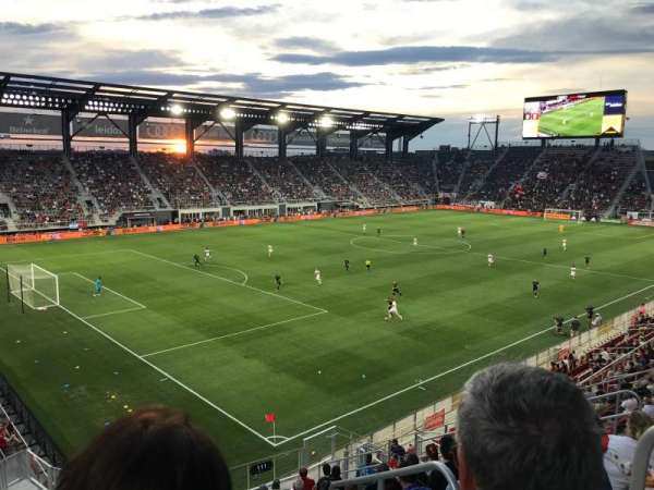 Audi Field, section: 112, row: 19, seat: 1