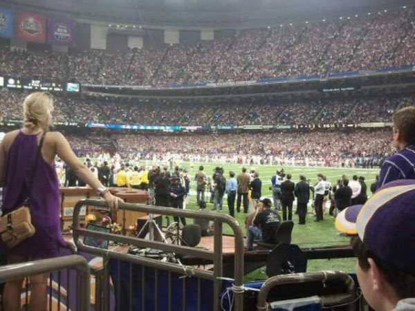 Mercedes-Benz Superdome, section: 135, row: 3, seat: 13