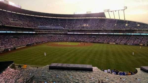 Kauffman Stadium, section: Suite