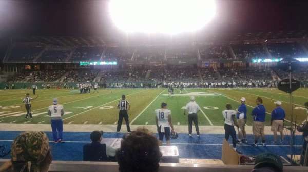 Yulman Stadium, section: 121, row: C, seat: 6