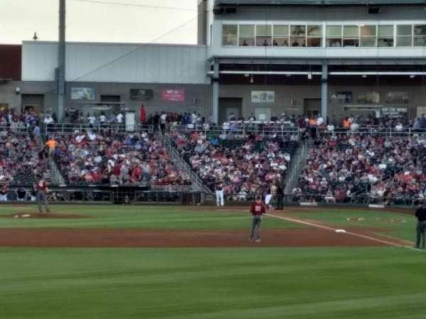 Goodyear Ballpark, section: Berm