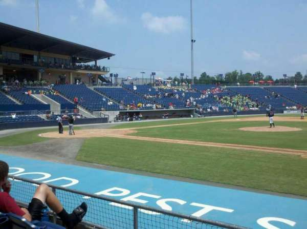 Coolray Field, section: 109, row: F, seat: 14