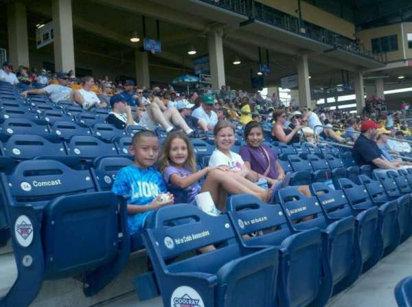 Coolray Field, section: 111, row: D, seat: 1