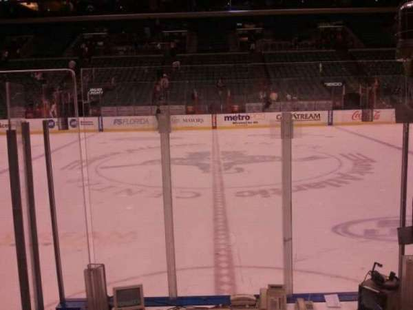 BB&T Center, section: 119, row: 6, seat: 6