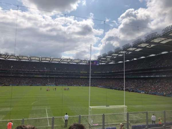 Croke Park, section: Hill 16, row: X, seat: X