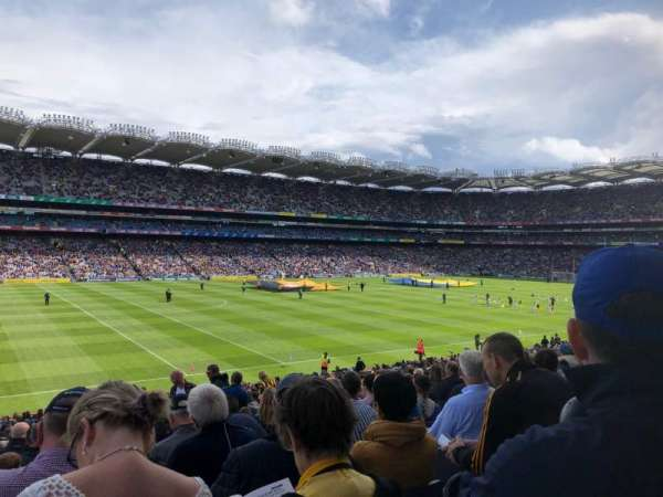 Croke Park, section: 336, row: LL, seat: 10