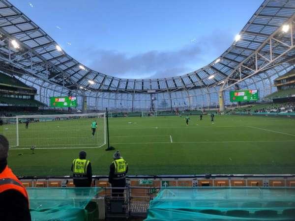 Aviva Stadium, section: 114, row: J, seat: 14