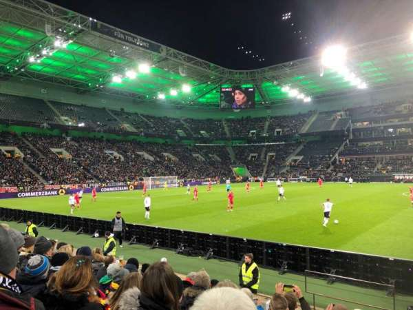 Borussia Park, section: 10, row: 6, seat: 21
