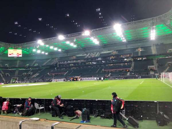 Borussia Park, section: 12, row: 3, seat: 6