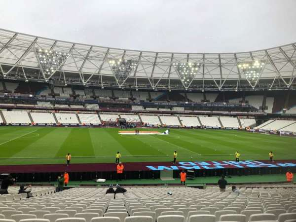 London Stadium, section: 134, row: 26, seat: 301