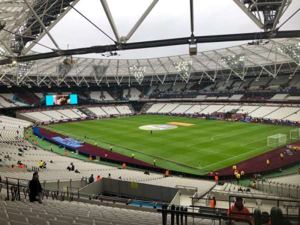 London Stadium, section: 243, row: 48, seat: 218