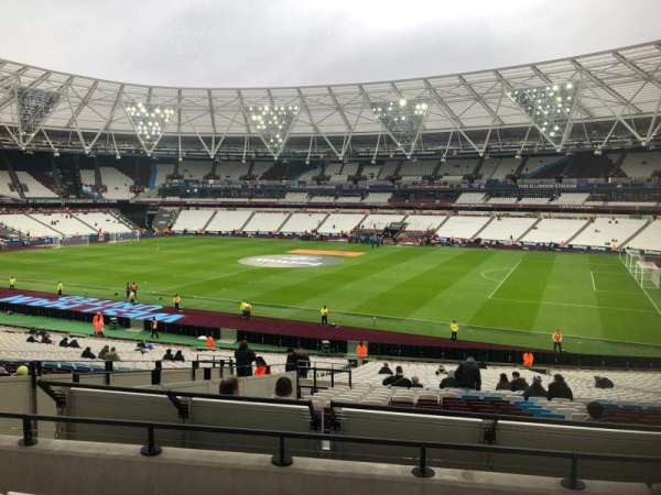 London Stadium, section: 240, row: 35, seat: 319