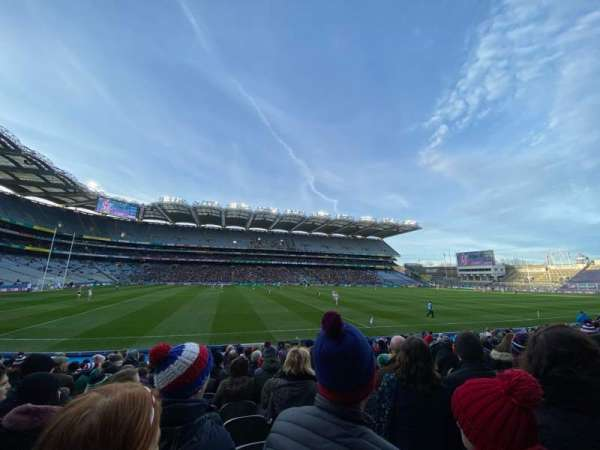 Croke Park, section: 308, row: R, seat: 21