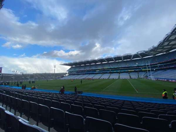 Croke Park, section: 327, row: P, seat: 28