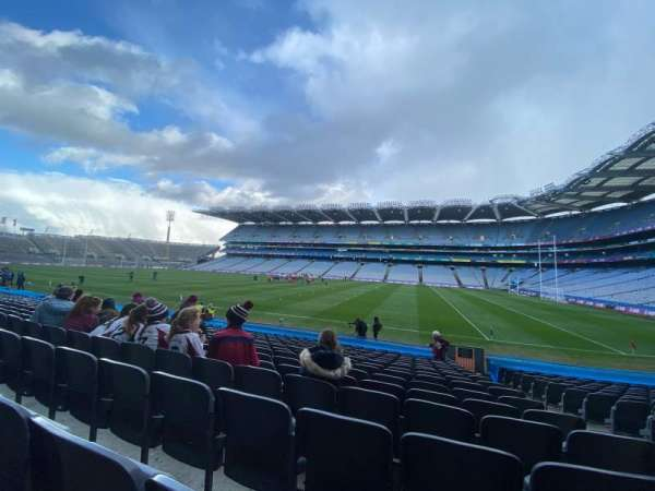 Croke Park, section: 328, row: S, seat: 17