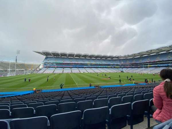 Croke Park, section: 334, row: Z, seat: 26