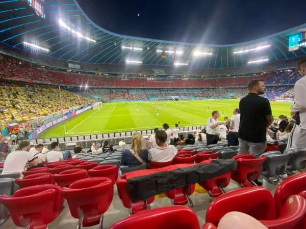 Allianz Arena, section: 119, row: 17, seat: 4