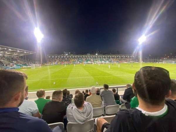 Tallaght Stadium, section: P, row: R, seat: 148
