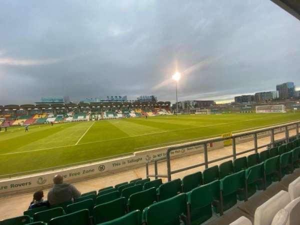 Tallaght Stadium, section: N, row: T, seat: 90