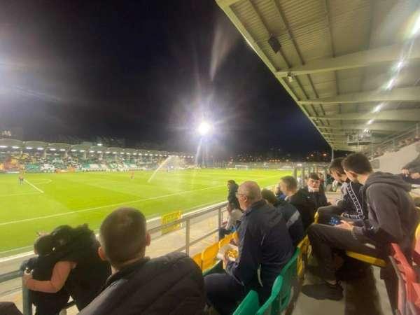 Tallaght Stadium, section: P, row: T, seat: 170