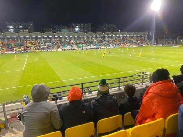 Tallaght Stadium, section: P, row: M, seat: 159