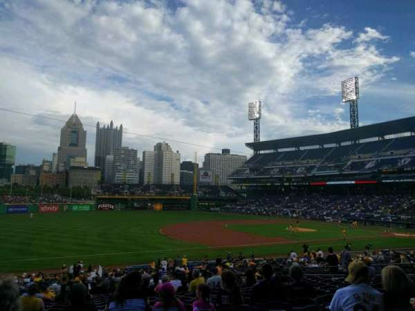 PNC Park, section: 127, row: v, seat: 17