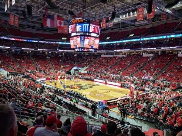 Pnc Arena Section 115 Row W Seat 4
