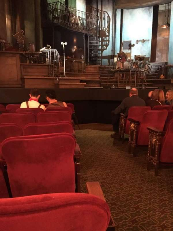Walter Kerr Theatre, section: Orchestra L, row: H, seat: 1