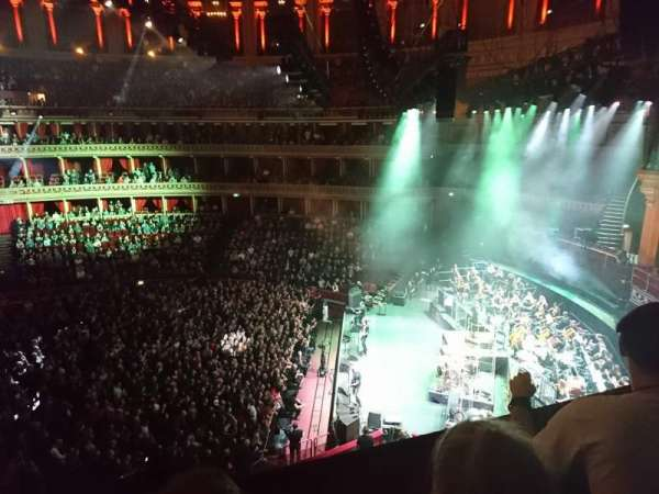 Royal Albert Hall, section: Second tier, row: Box 81, seat: 5