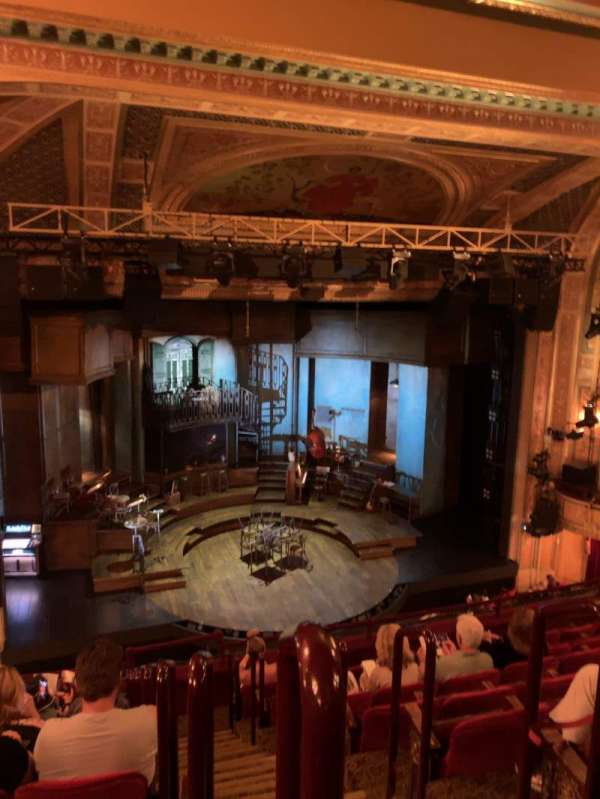 Walter Kerr Theatre, section: MEZZ, row: H, seat: 1
