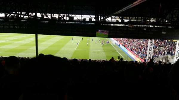 Selhurst Park, section: S for shitview, row: 50, seat: 39