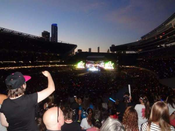 Soldier Field, section: 219, row: 14, seat: 8
