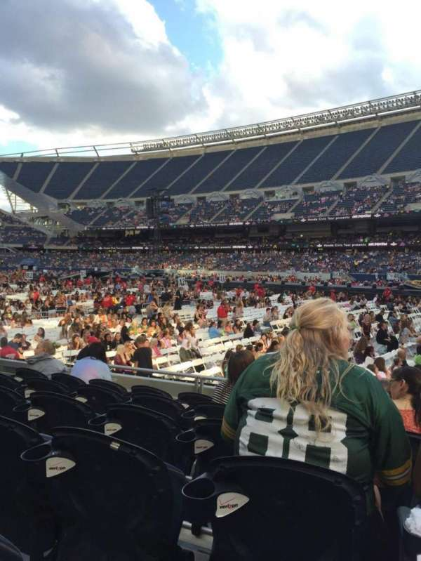 Soldier Field, section: 103, row: 6, seat: 9